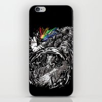 Dark Side of the Rainbow iPhone & iPod Skin