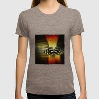 Butterfly Womens Fitted Tee Tri-Coffee SMALL