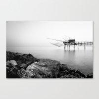 Tranquillity sea Canvas Print
