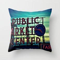 PMC Throw Pillow
