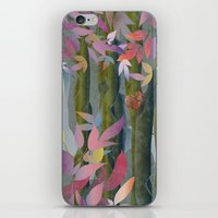 Autumn by a Waterfall iPhone & iPod Skin