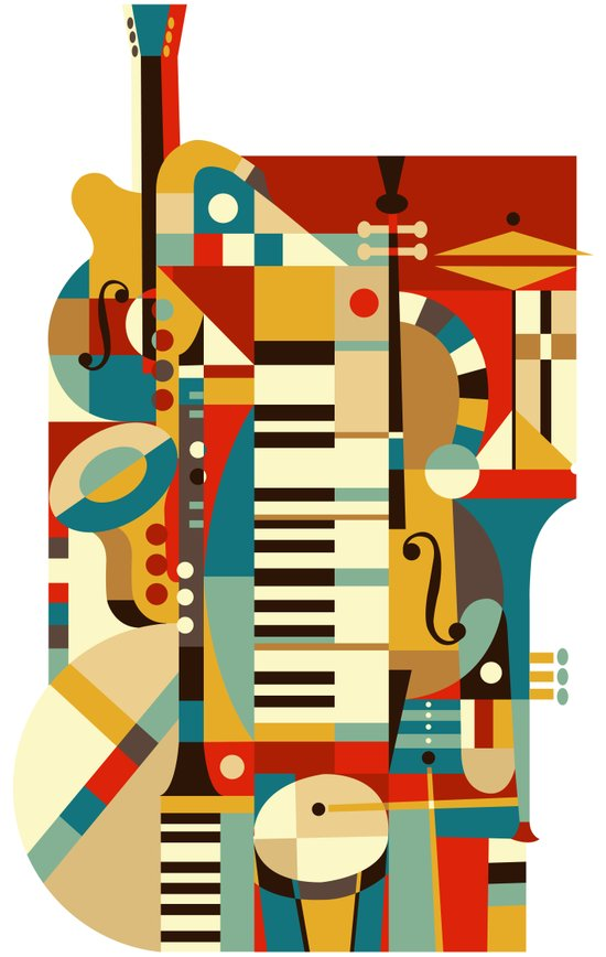 Jazz Fusion Canvas Print