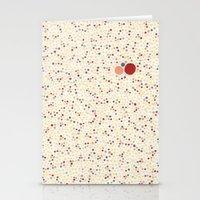 Light Background Dot Col… Stationery Cards