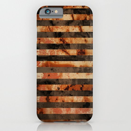Rusty barrel abstraction iPhone & iPod Case