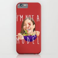 iPhone & iPod Case featuring i'm not a (stock) model by Shelby Leigh