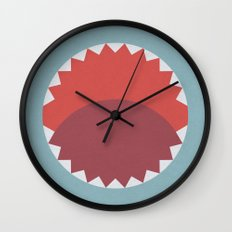 Time To Get Out Of The W… Wall Clock