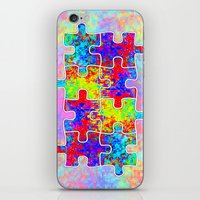 Autism Colorful Puzzle P… iPhone & iPod Skin