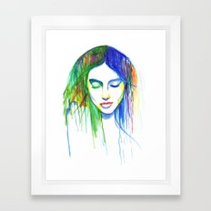 Sadness is a Blessing Framed Art Print