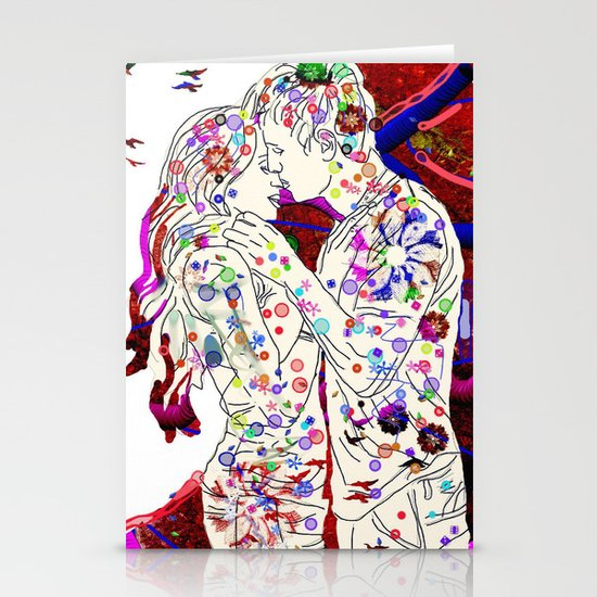 Couple Stationery Card