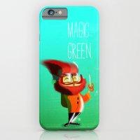 iPhone & iPod Case featuring Magic Green by Francesco Malin