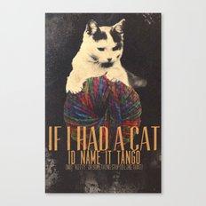 Original Pet Names Canvas Print