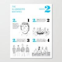 The Illuminated Mixtapes, Series 2 Canvas Print