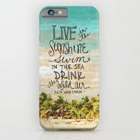 Live In The Sunshine - P… iPhone 6 Slim Case