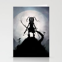 Skyrim Kid Stationery Cards