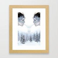 Breath Of Winter Framed Art Print