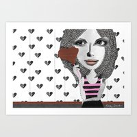 Forget LOVE... I'd Rathe… Art Print