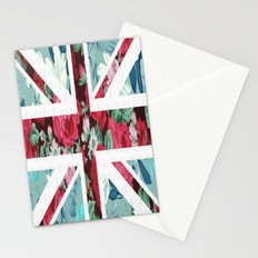 United Kingdom Flowers Stationery Cards
