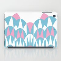 Modern Day Arches Pink iPad Case