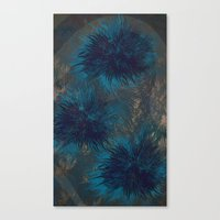 Aqua Whisper Canvas Print