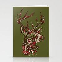 ROAD KILL ~ GREEN Stationery Cards