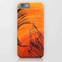 iPhone & iPod Case featuring Angel under cover by Art Pass
