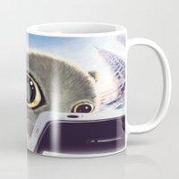 Falling Cat & Hero Mug