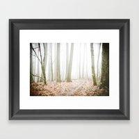 FOREST SECRETS Framed Art Print