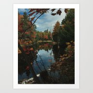 Art Print featuring New York Fall by Kevin Russ