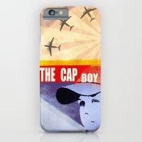 iPhone & iPod Case featuring The Cap Boy by Aleksandra Mikolajczak