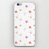 Poppy Rose iPhone & iPod Skin