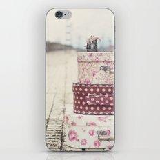 Vintage travel iPhone & iPod Skin