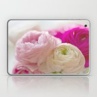 PASTEL COLORED RANUNCULUS Laptop & iPad Skin