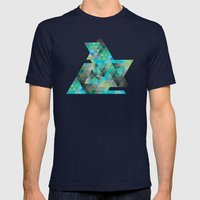 Gheo 3 Mens Fitted Tee Navy SMALL