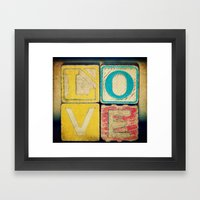 Old Love  Framed Art Print