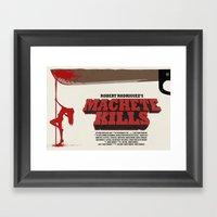 Machete Kills Framed Art Print
