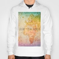 Color Your World Hoody