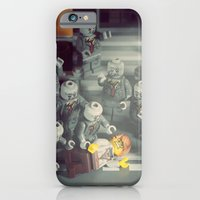 iPhone Cases featuring A Lovely Night for a Stroll by powerpig