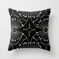 Noir Tapestry Throw Pillow