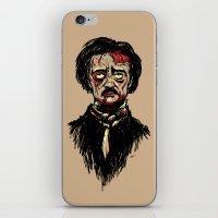 Edgar Allan Poe Zombie iPhone & iPod Skin