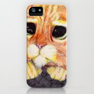 iPhone & iPod Case featuring Puss In Boots. by DeMoose_Art