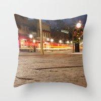 Downtown Blacksburg Chri… Throw Pillow