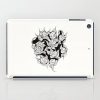 Abstract roses iPad Case