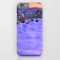 Purple Snow At Sunset iPhone 6 Slim Case