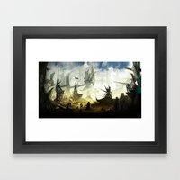 Frontier Line Framed Art Print