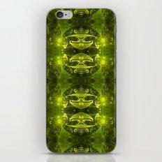 Emerald Green Fractal iPhone & iPod Skin