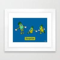 Surprise!! Framed Art Print