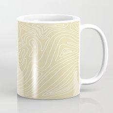 Ocean depth map - sand Mug