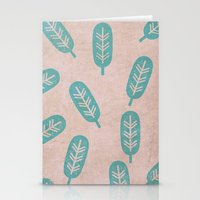feather Stationery Cards featuring Feather by sinonelineman