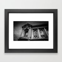 Monte Carlo, Monaco, Bui… Framed Art Print
