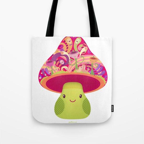 Mrs. Shroom Tote Bag